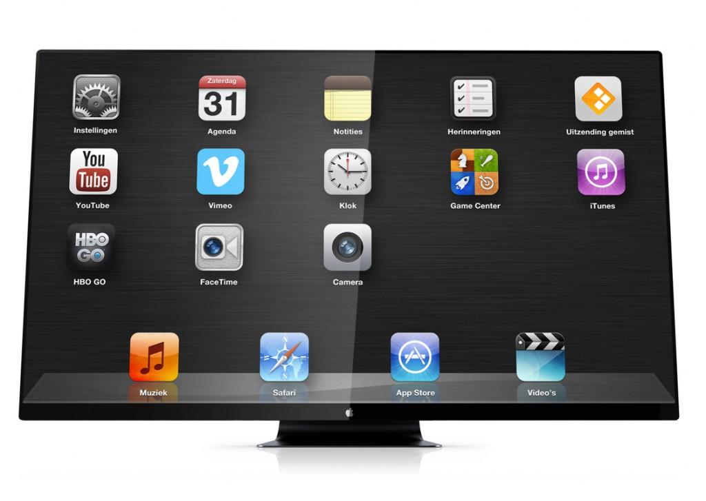 bilder apple itv apple hd fernseher konzept von martin hajek. Black Bedroom Furniture Sets. Home Design Ideas