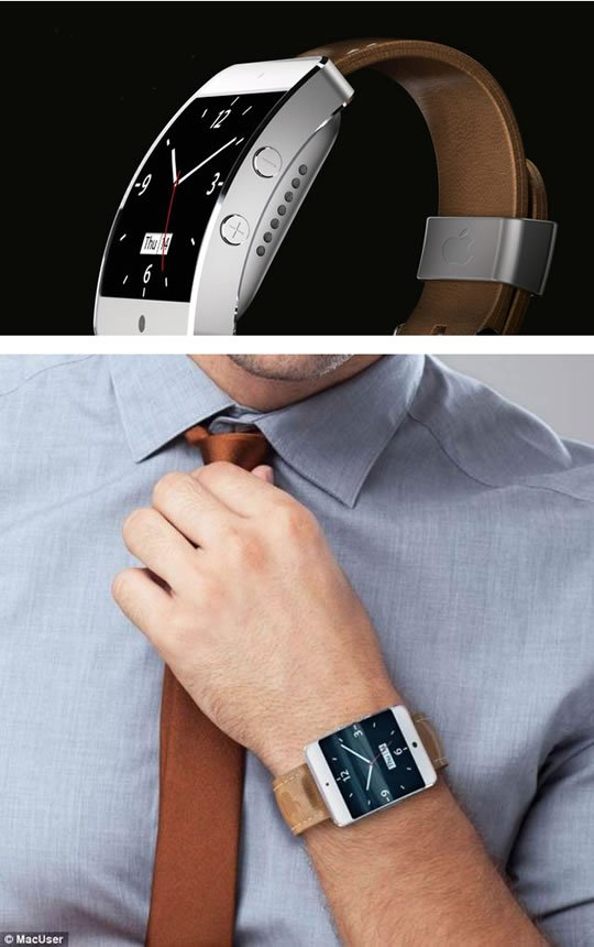 Neue Apple iWatch Bilder (Design Konzept Fotos von Martin Hajek)   Apple iWatch
