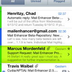 Mail Enhancer Pro iOS 6 kompatibel!