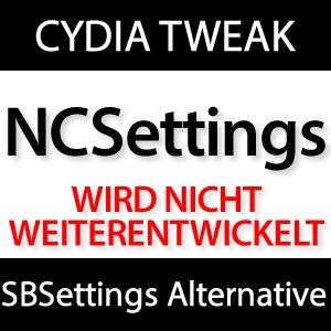 NCSettings Cydia Jailbreak Tweak