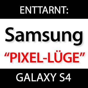 iPhone Retina Display besser als Samsung Galaxy S4?