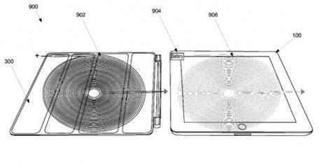 Apple Patent: iPad Akku kabellos laden!