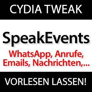 speakevents whatsapp sms anrufe nachrichten emails. Black Bedroom Furniture Sets. Home Design Ideas