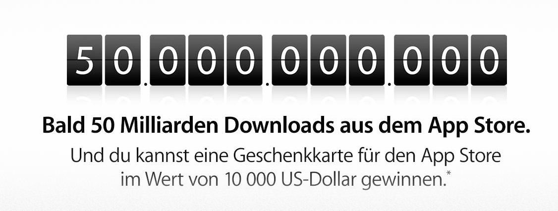 App Store Countdown: Apple verschenkt iTunes Guthaben!  2013 05 03 at 20.32.18