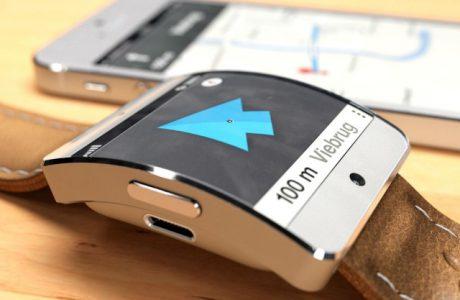 iWatch Maps: Apple iWatch Studie mit Navigation 2