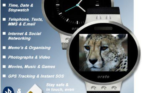 """iWatch Kontrahent: Orsto X1 - die """"ultimative Smartwatch"""" mit SIM-Karte 1"""