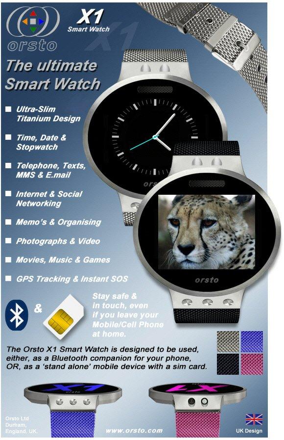 iwatch kontrahent orsto x1 die ultimative smartwatch mit sim karte. Black Bedroom Furniture Sets. Home Design Ideas