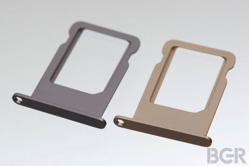Apple iPhone 5S Bauteile deuten buntes iPhone mit neuem Innenleben an 10