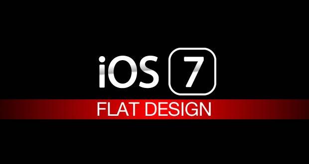 iOS 7 Flat Design: schwarz & weiß und sehr flach!  8