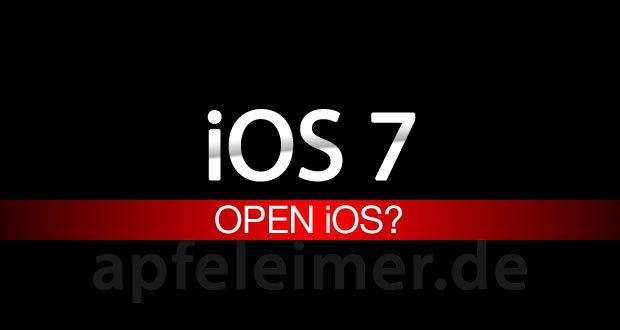 Apple öffnet iOS 7 für Entwickler: Wird ein iOS 7 Jailbreak überflüssig? 1