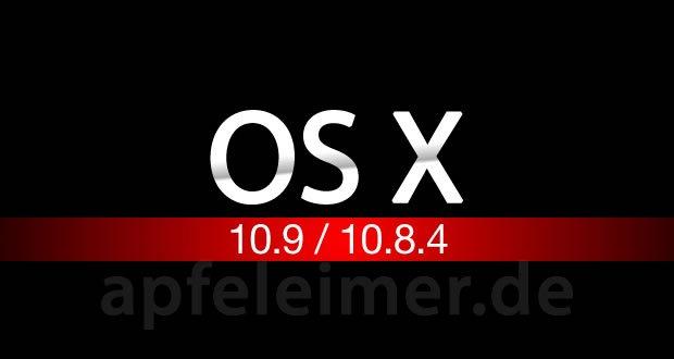 Mac OS X 10.8.4 & OS X 10.9 zur WWDC 2013 1