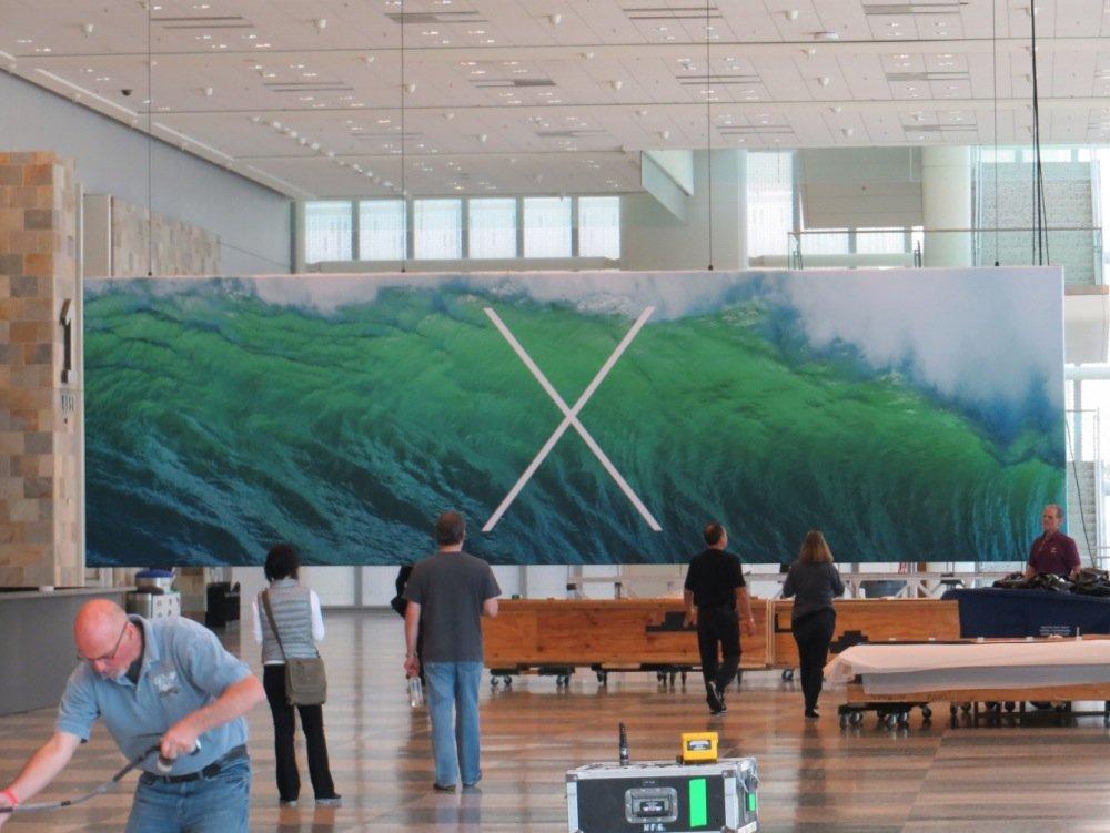 """X"" - Mac OS X 10.9 Banner zur WWDC 2013 1"