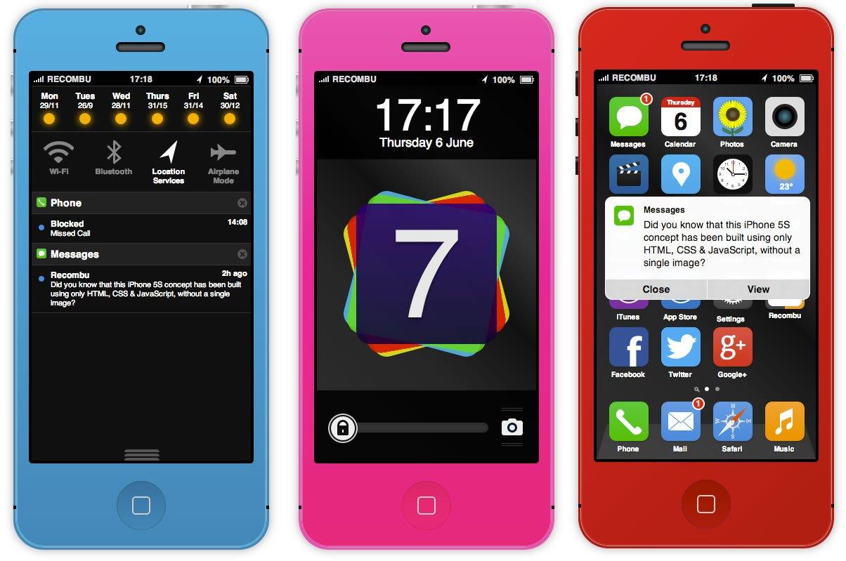 Ios 7 Flat Design Live Auf Dem Iphone 5s Testen Ausprobieren