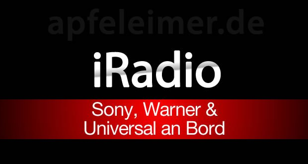 Apple iRadio mit Sony, Universal & Warner Music 4