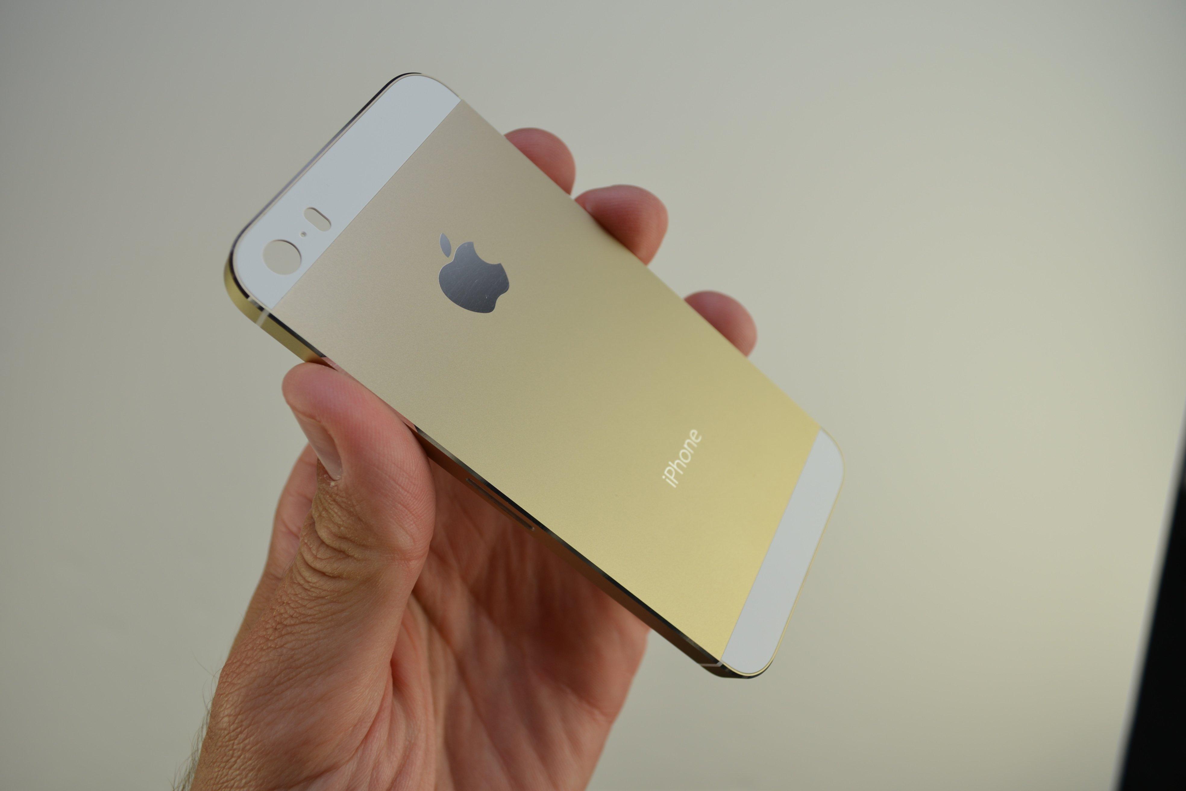 Die schönsten iPhone 5S Champagner / Gold Fotos 5