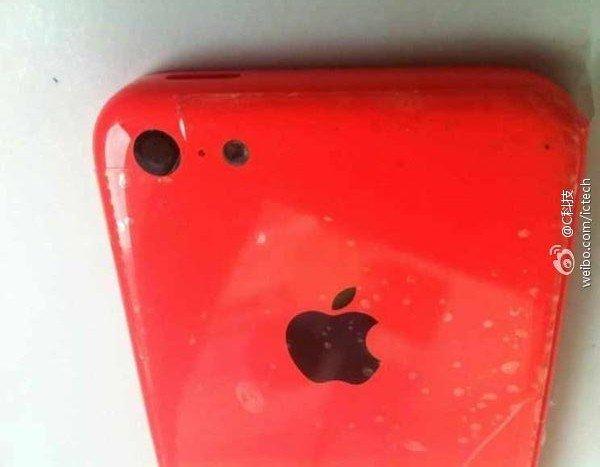 Rotes iPhone 5C aufgetaucht (Fotos) 1