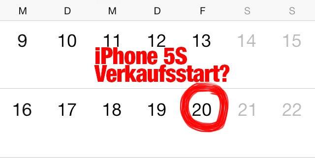 iPhone-5S-Verkaufsstart