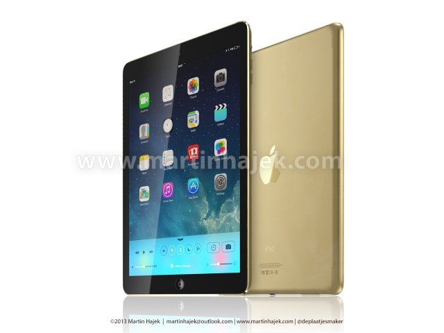 iGold: goldenes iPad 5 & iPhone 5S (Bilder)   ipad5 640x480