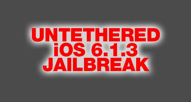 Untether für untethered iOS 6.1.3 Jailbreak entdeckt!  8