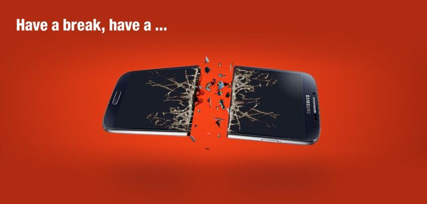 Nokia beweist Humor: Samsung Galaxy S3 muss dran glauben #KitKat  1