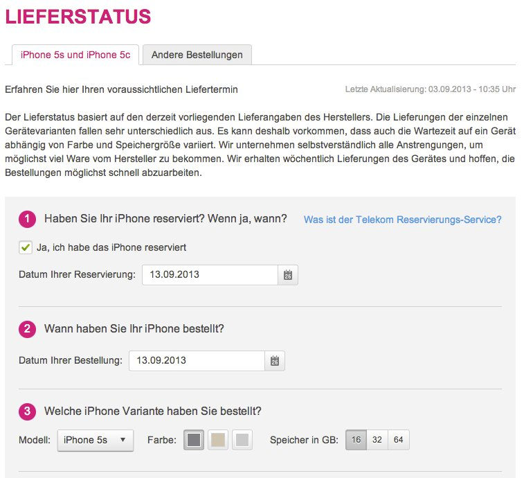 Telekom Lieferstatus Iphone
