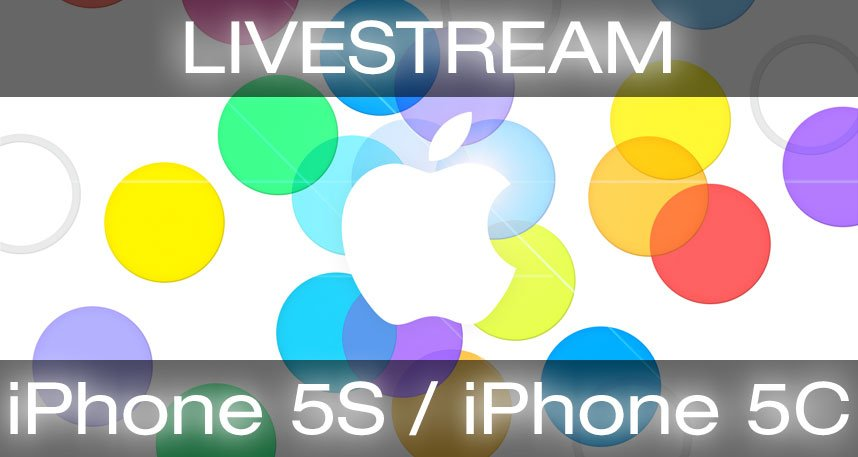 Livestream iPhone 5S 5C Keynote