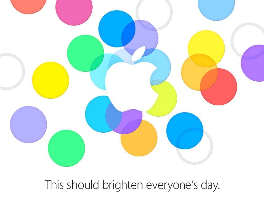 Apple Einladung iPhone 5S Event Keynote!