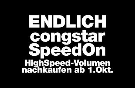 Congstar mit SpeedOn Option & neue Prepaid Smart Tarife! 2