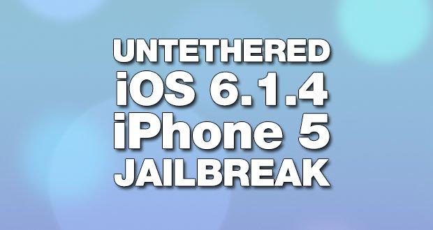 iPhone 5 Jailbreak: Untethered iOS 6.1.4 Jailbreak funktioniert!  5