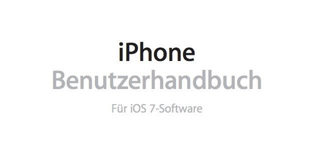 Benutzerhandbuch Iphone