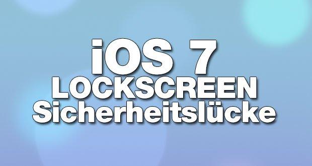Lockscreen Sicherheitlücke in iOS 7: trotz Codesperre Zugriff auf Fotos & mehr!  13