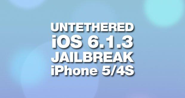 iOS 6.1.3 Jailbreak: Cydia auf iPhone 4S Videobeweis 6
