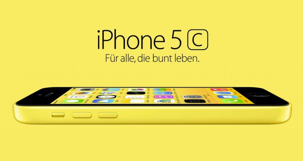 gelbes iphone 5c ausverkauft gelb gold die apple. Black Bedroom Furniture Sets. Home Design Ideas