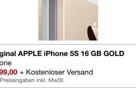 iPhone 5s bei Amazon 5