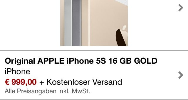 iPhone 5s bei Amazon 5