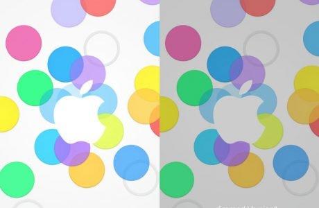 Download: Bunte iPad & iPhone Wallpaper Apple iPhone Event 2013 2