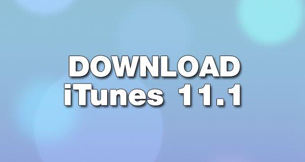 Download Itunes 11 1
