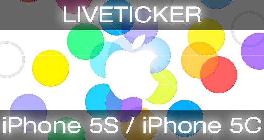 apple iphone 5s live liveticker zur iphone 5s iphone 5c apple keynote. Black Bedroom Furniture Sets. Home Design Ideas