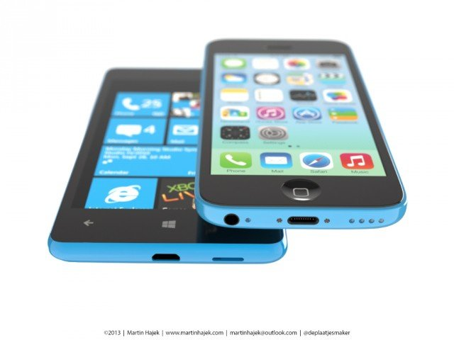 iPhone 5c vs. Nokia Lumia 820 10