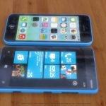 iPhone 5c vs. Nokia Lumia 820 4