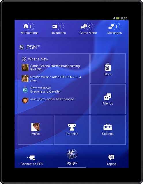 ps4 kostenlose playstation iphone ipad app kommt. Black Bedroom Furniture Sets. Home Design Ideas