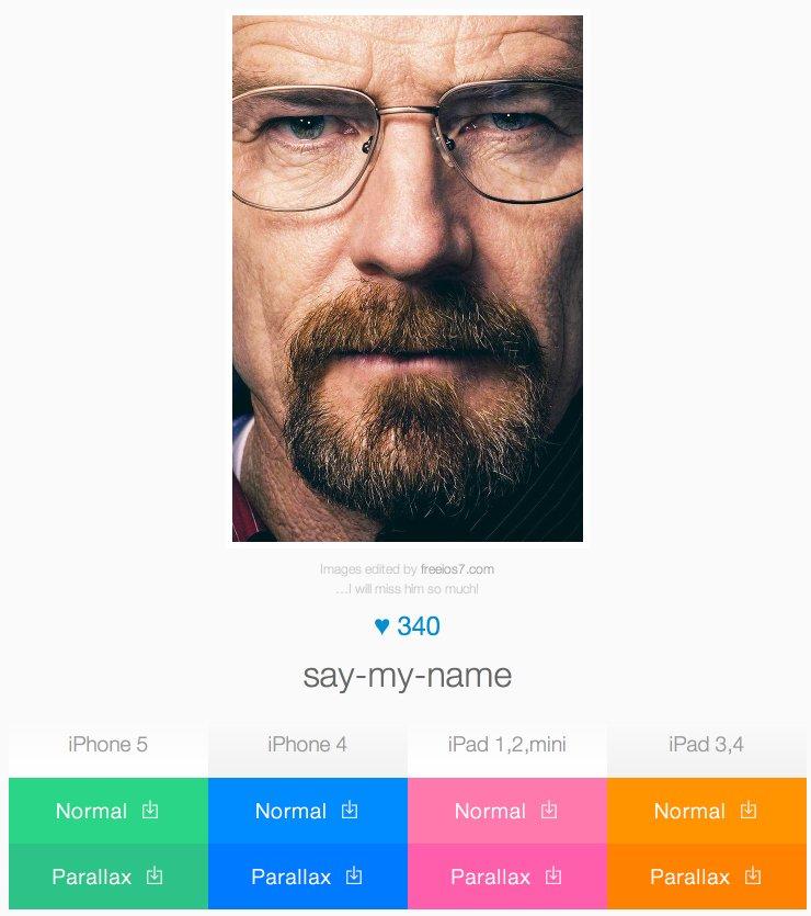 Free iOS 7 | wallpaper - say-my-name 2013-10-01 10-55-54