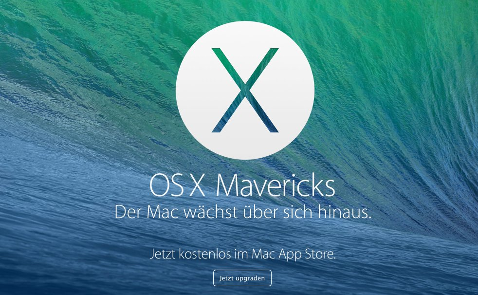 Mavericks Download OS X 10.9 kostenlos (Update & Upgrade) 9