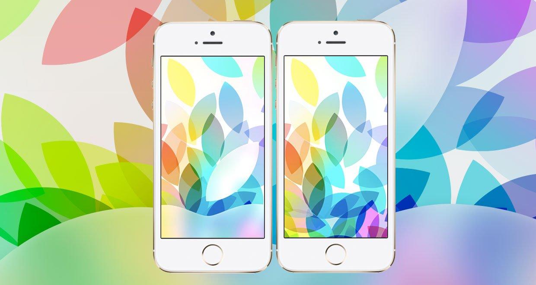 iPad Event 2013: iOS 7 Hintergrundbilder & Wallpaper für iPhone & iPad 1