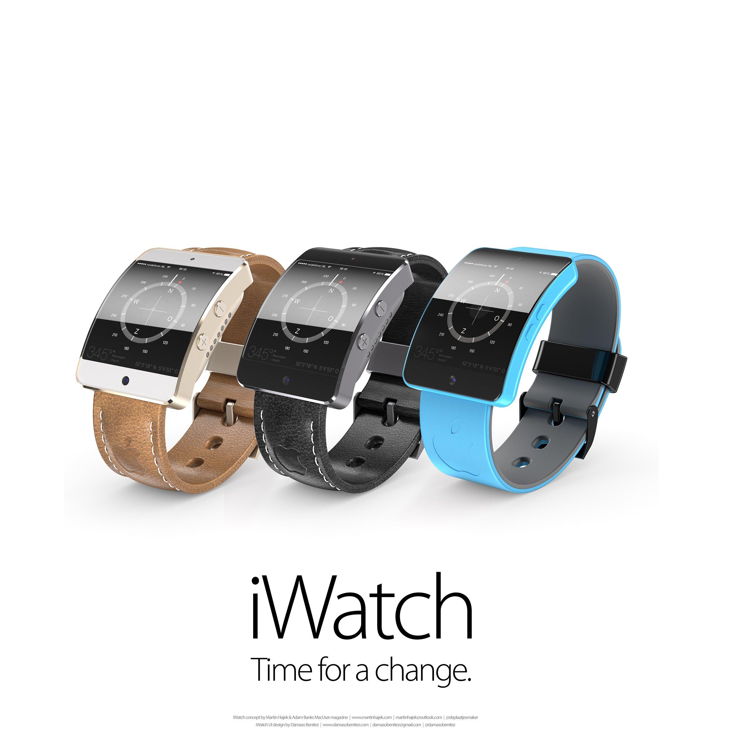 apple iwatch mit superd nnem 1 5 zoll oled display von lg. Black Bedroom Furniture Sets. Home Design Ideas