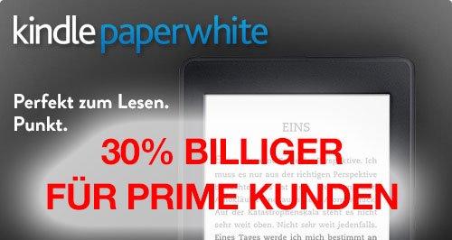 KINDLE99: Neuer Kindle Paperwhite für 99 Euro! 30 EUR billiger für Amazon Prime Kunden! 11