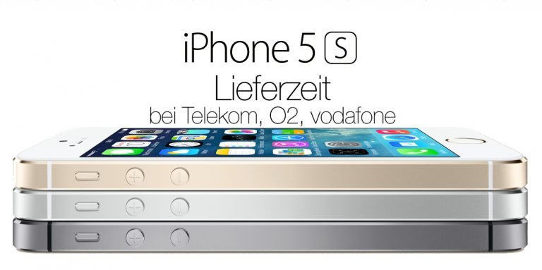 iphone 5s lieferzeit mit vertrag bei telekom vodafone o2. Black Bedroom Furniture Sets. Home Design Ideas