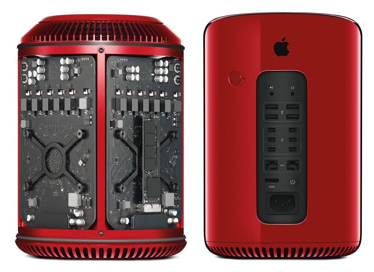Roter Apple Mac Pro (RED) von Jony Ive, Mac Pro aus Glas von Martin Hajek! 9