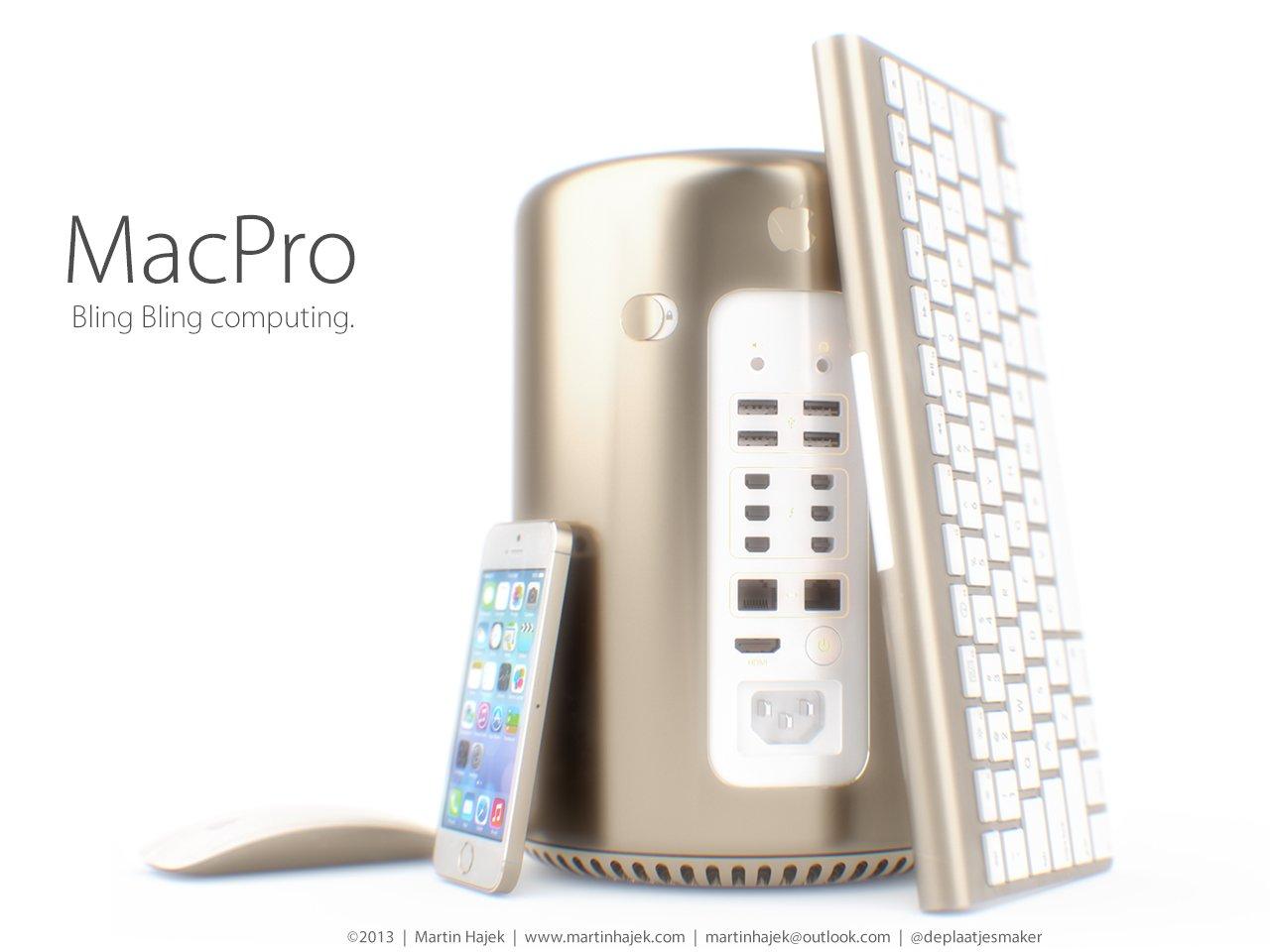 Mac Pro Gold