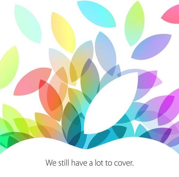 Apple iPad 5 Keynote Event Einladung